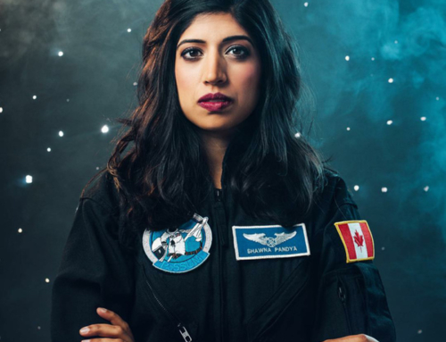 MY FIRST FIGHT: CANADIAN ASTRONAUT-CANDIDATE DR. SHAWNA PANDYA